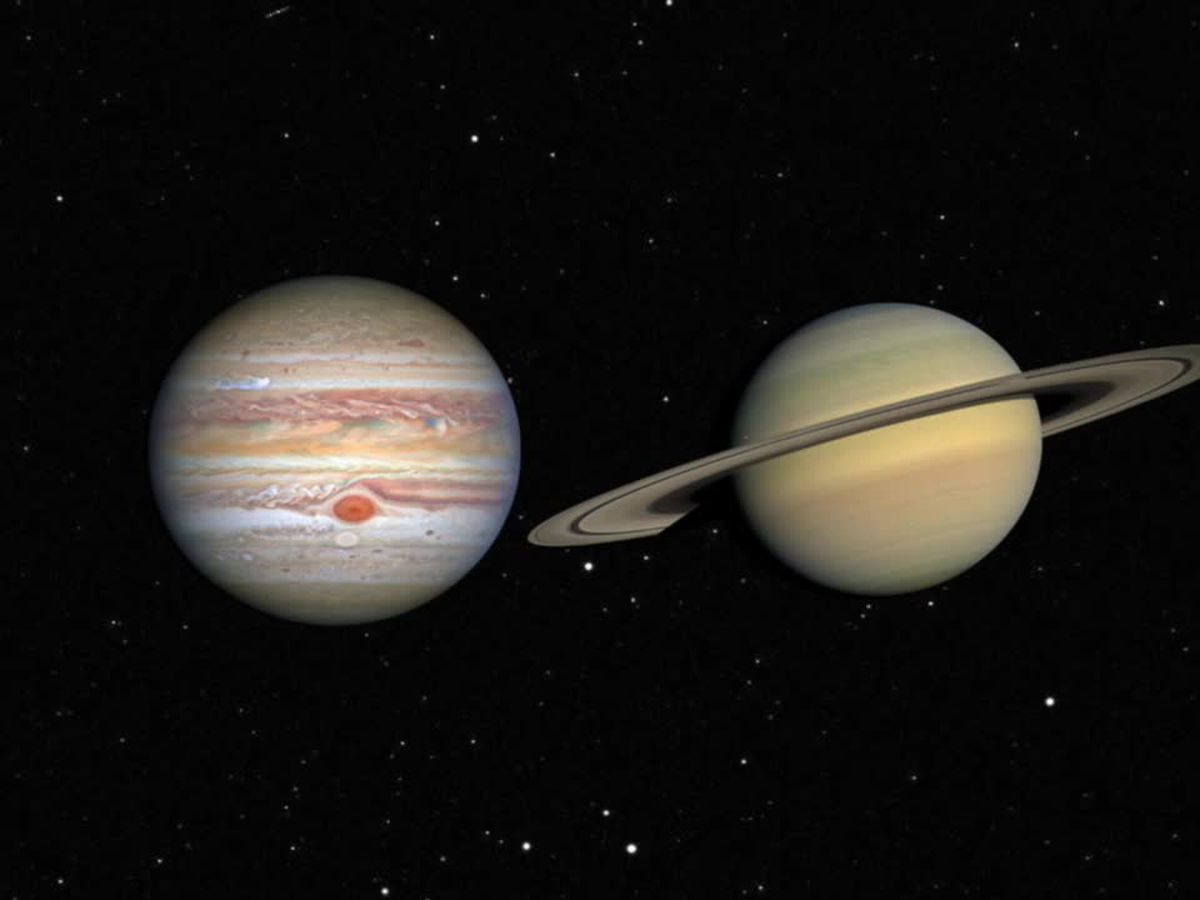 Saturn, Jupiter will align for 'Christmas Star' this month