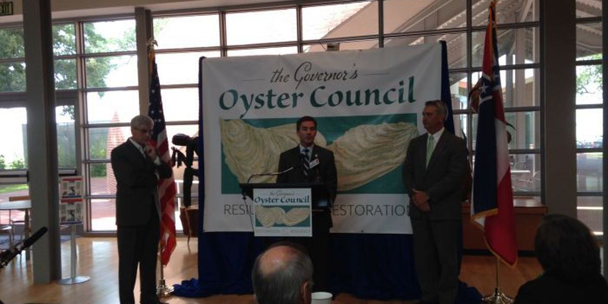 Gov. Bryant highlights plans to boost MS oyster industry