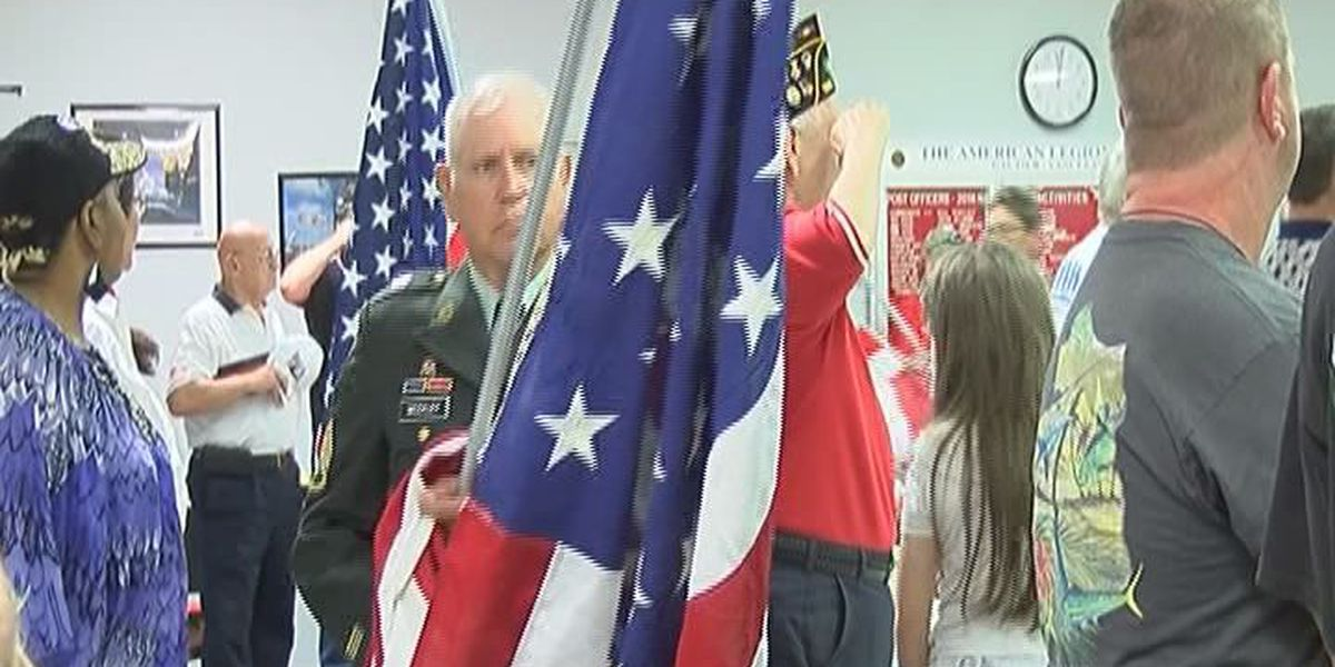 Gautier holds emotional service to honor fallen soldiers