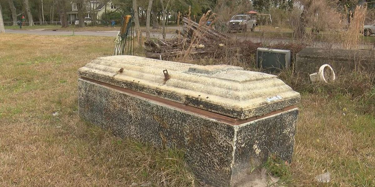 Missing casket from Jackson County cemetery has been found