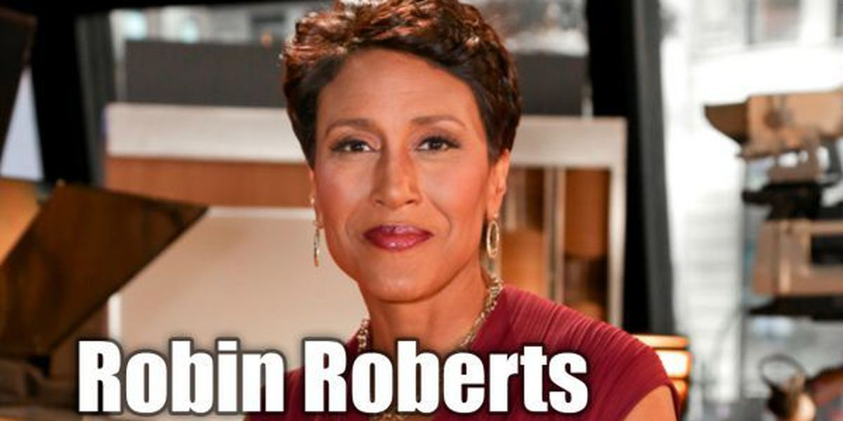Robin Roberts honored for her TV career