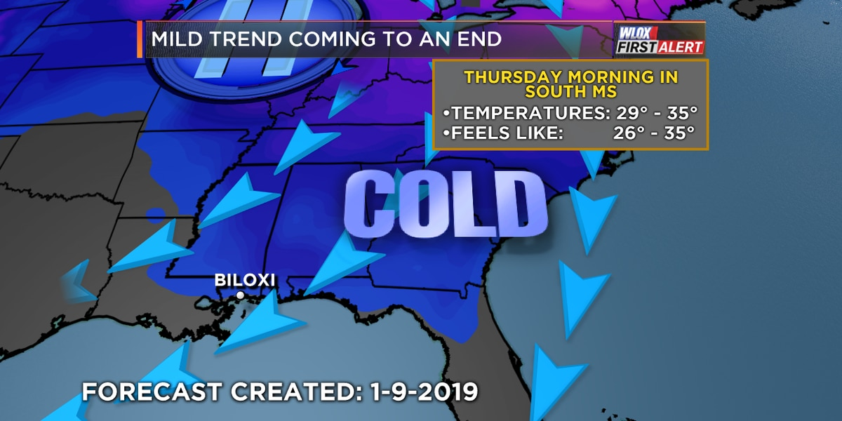 Big winter chill this week