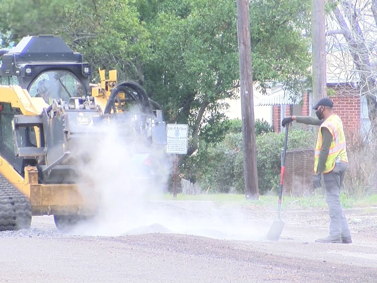 Road improvements coming along in west Gulfport