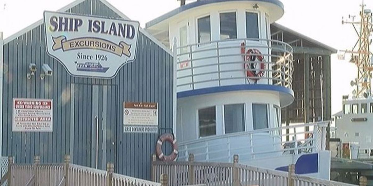 Maintenance repairs in works for Ship Island piers