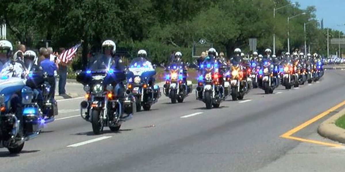 Local, national communities come together to honor fallen Biloxi police officer