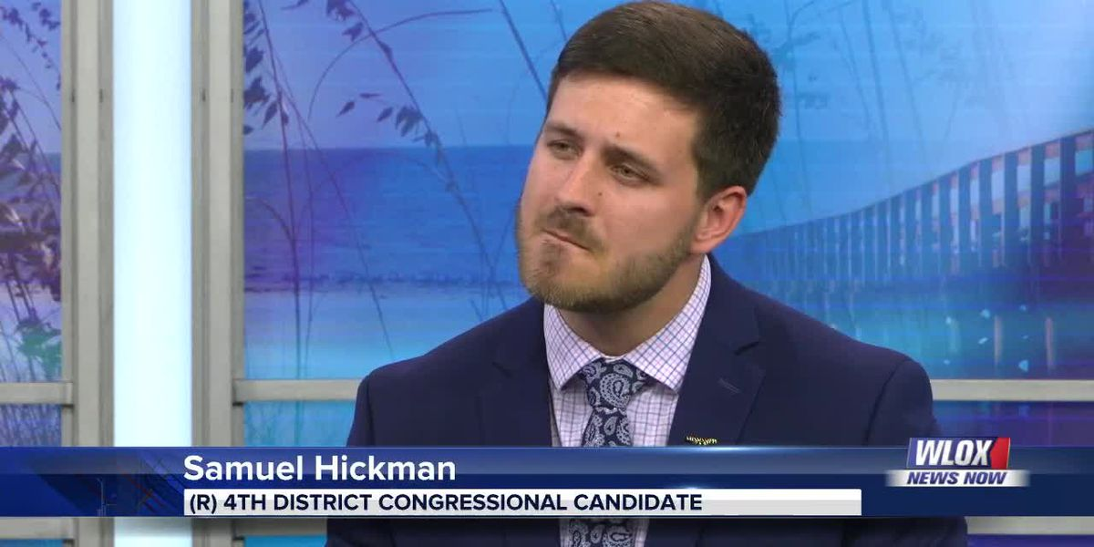 4th District Congressional candidate Samuel Hickman