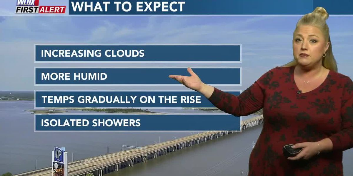 Carrie's Midday First Alert Forecast
