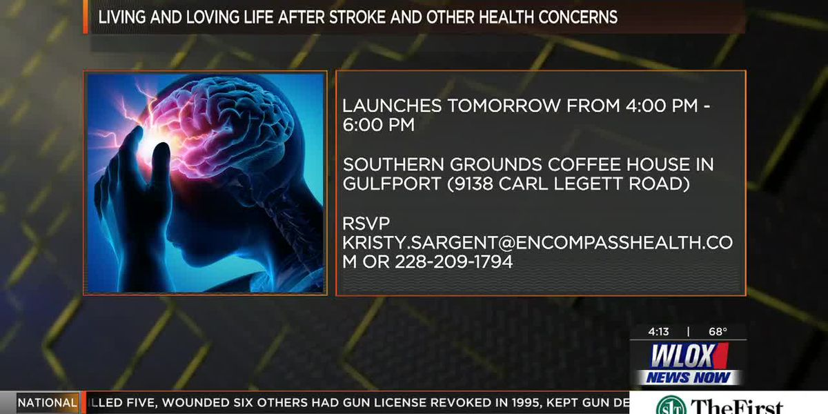 'Living and Loving Life After Stroke and Other Health Concerns' launches in Gulfport