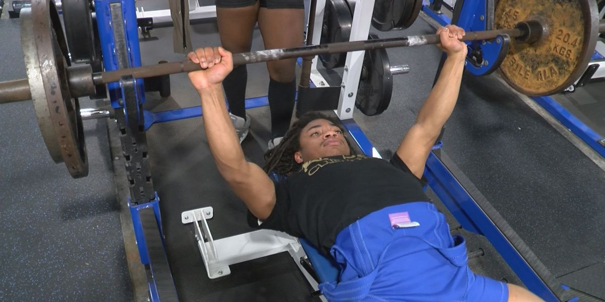 Jaquan Foster will play a key role for two-time defending 6A Powerlifting Champion Gulfport