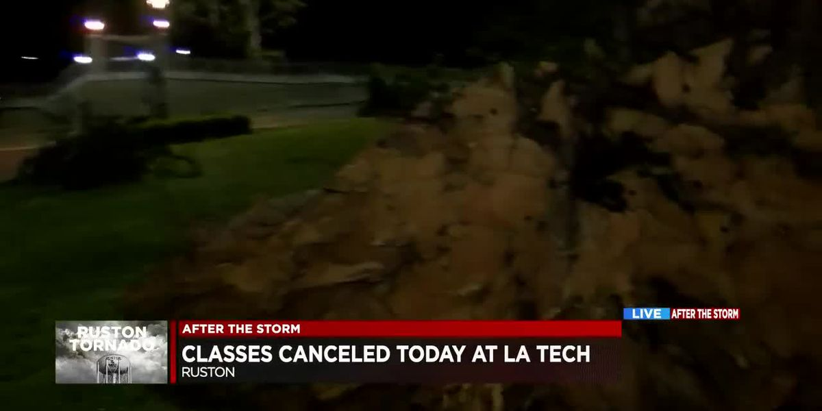 Classes remain canceled at La Tech