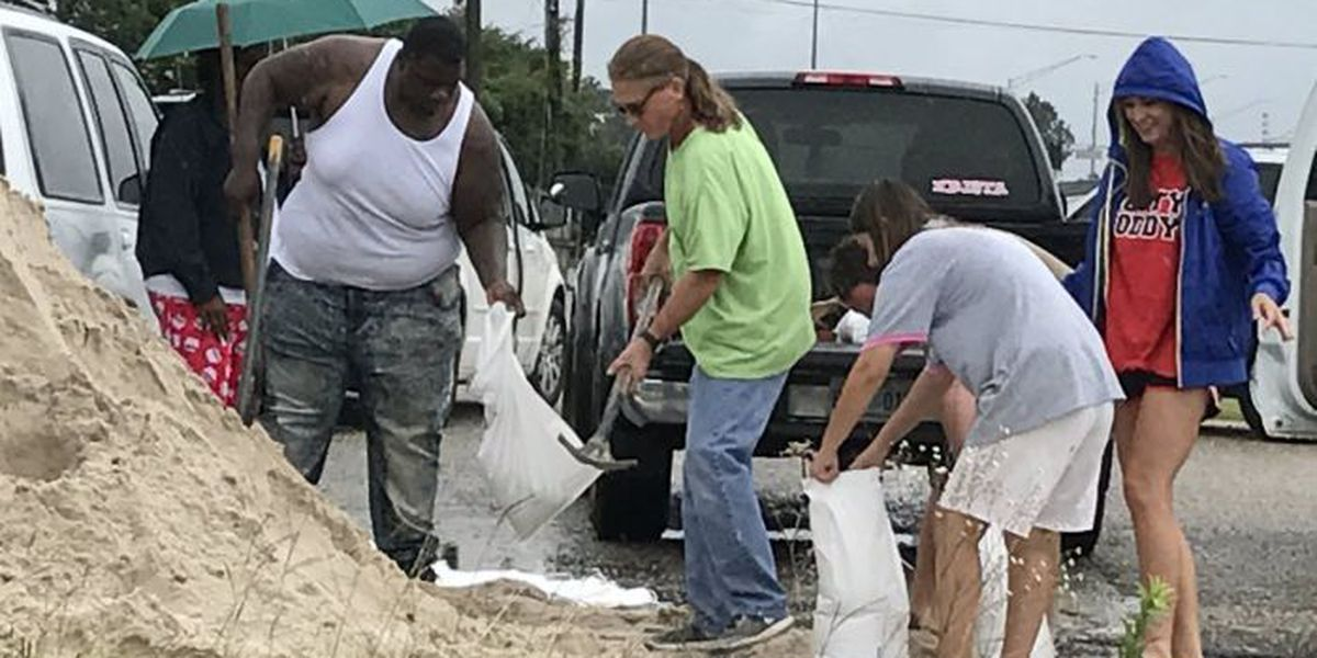 LIST: Sandbag locations now open across South Mississippi