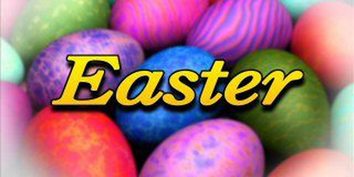 """""""Egg""""cellent Easter Weather"""