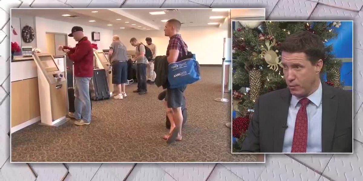 Gulfport airport bracing for busy travel holiday