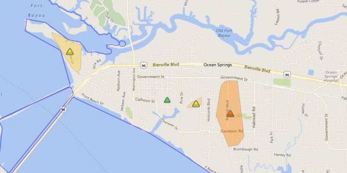 More than 1,200 residents without power following storms