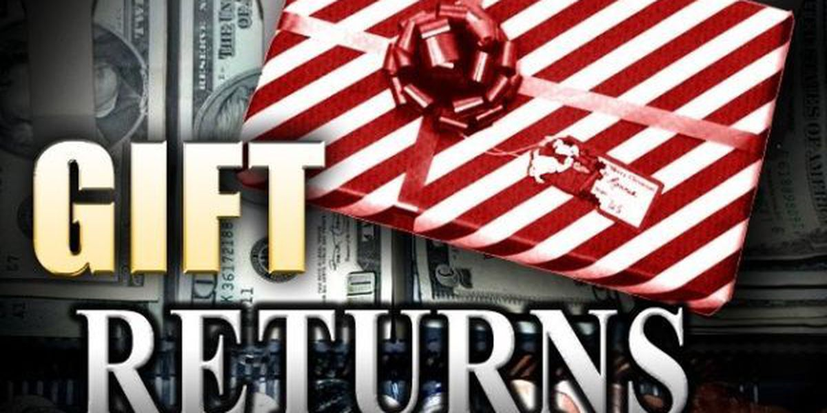 Stores, customers focused on speedy holiday gift returns