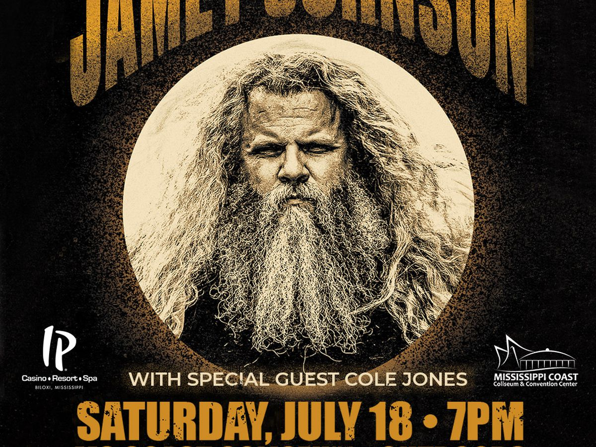 Outdoor Jamey Johnson concert coming to MS Coast Coliseum in July