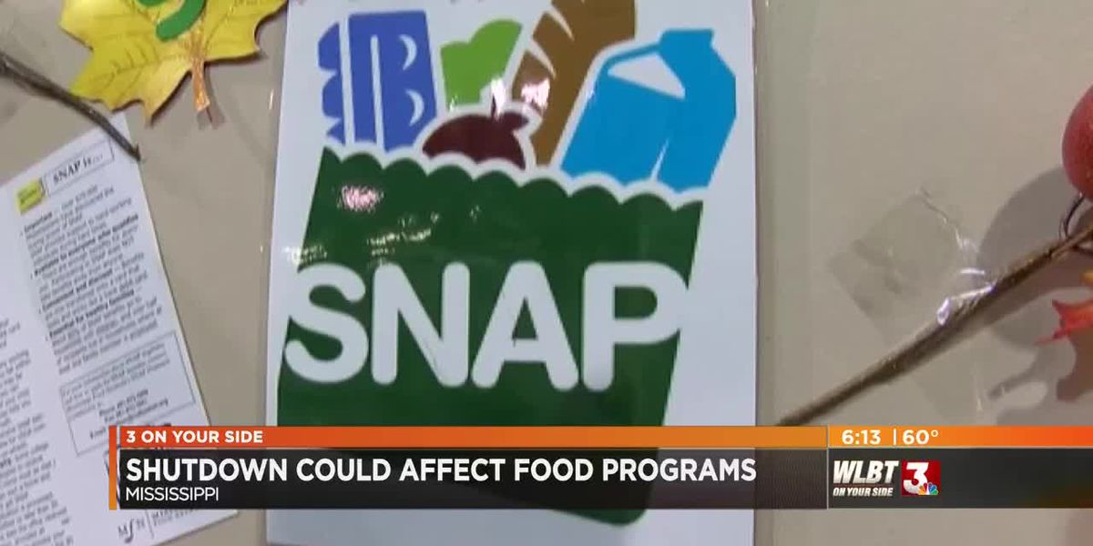 Government shutdown could affect food assistance programs in Mississippi