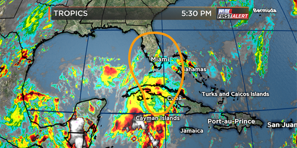Tropical development possible in Caribbean and southern Gulf