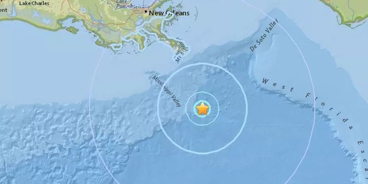 Professor explains reasons behind the Gulf of Mexico earthquake