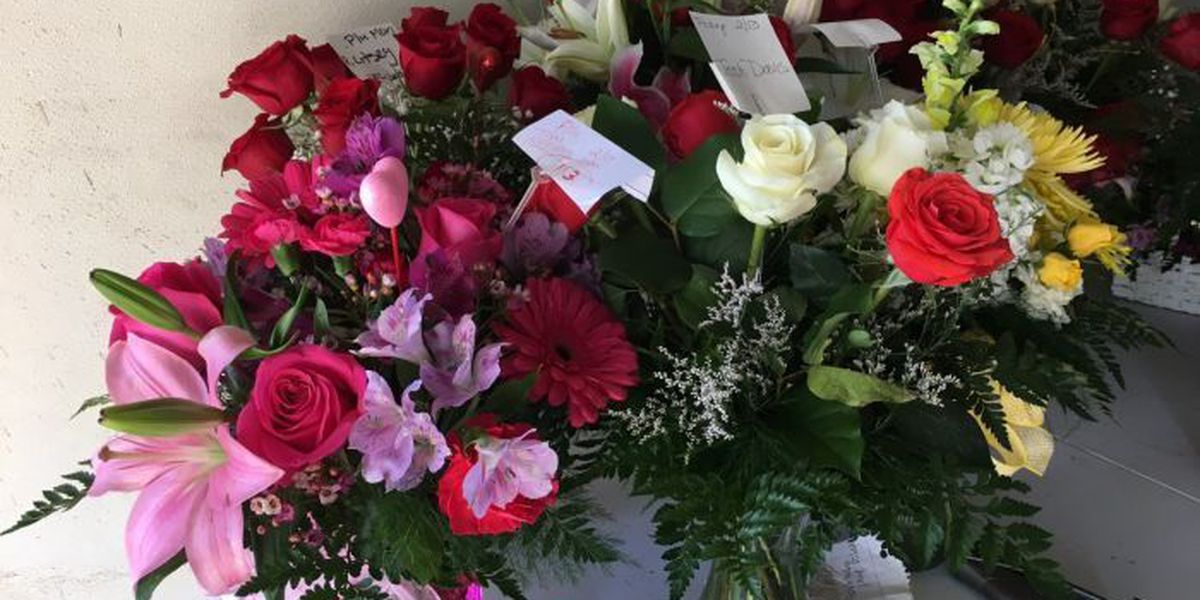 Florists hustling to fill Valentine's Day orders
