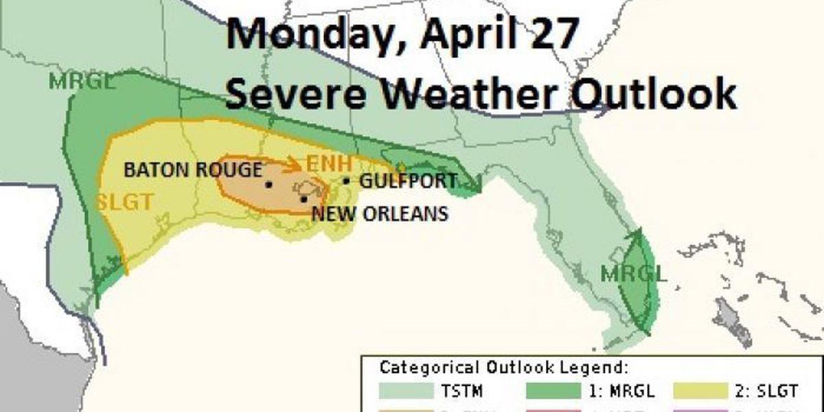 Joel's Blog: Another round of strong to severe storms arrives Monday