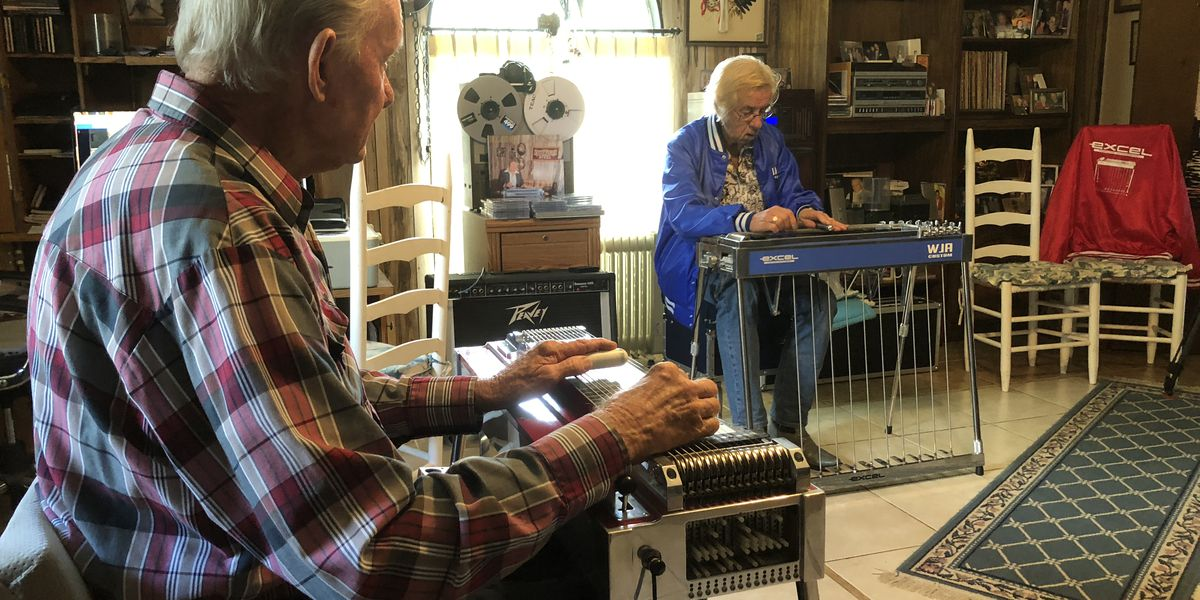 Two musicians from two continents share love of steel guitar