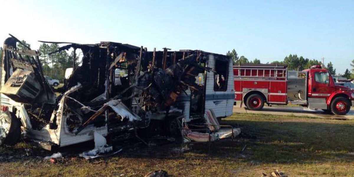 Fire ignites at a Hwy 15 RV park