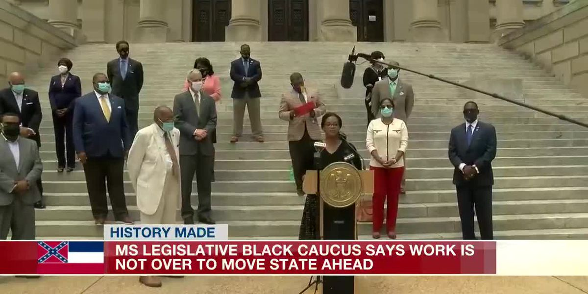Legislative Black Caucus applauds historic vote to change state flag