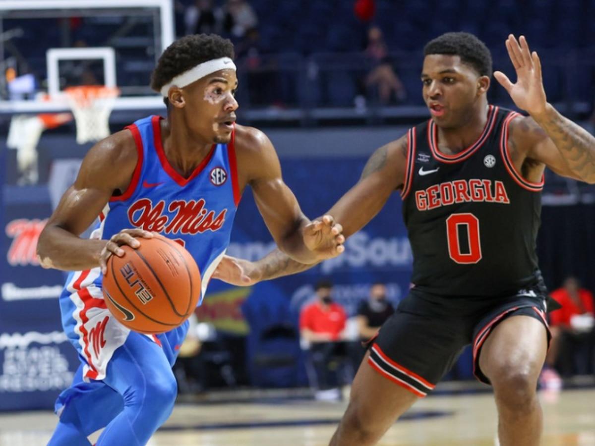 Ole Miss men's basketball falls to Georgia