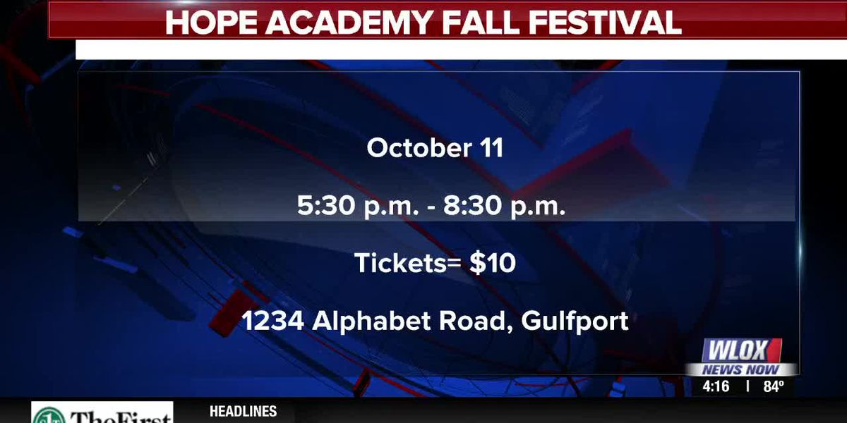 Happening Oct. 11th: Hope Academy Fall Festival