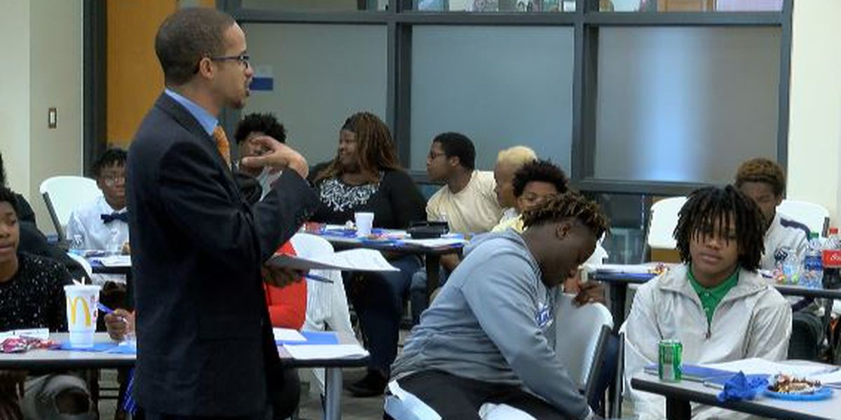 Gulfport High brings mothers, sons together for valuable life lessons