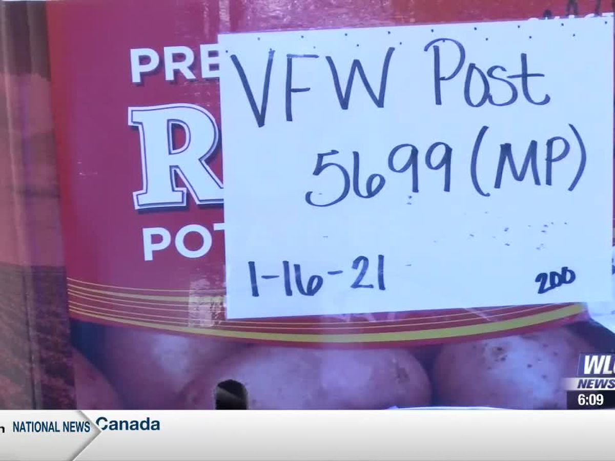VFW Post 5699 holds successful food drive