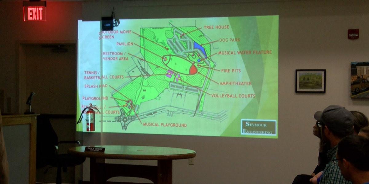 Design company presents concept for Town Commons to Gautier city leaders