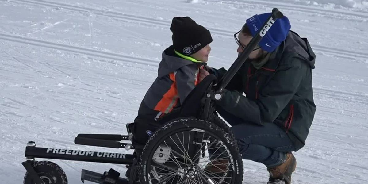 Idaho family surprised with off-road wheelchair for 3-year-old with mobility difficulties