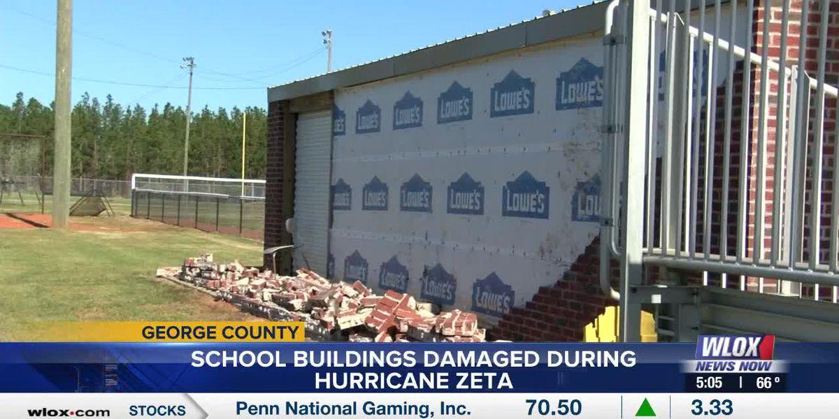 George County schools repairing damage after Hurricane Zeta