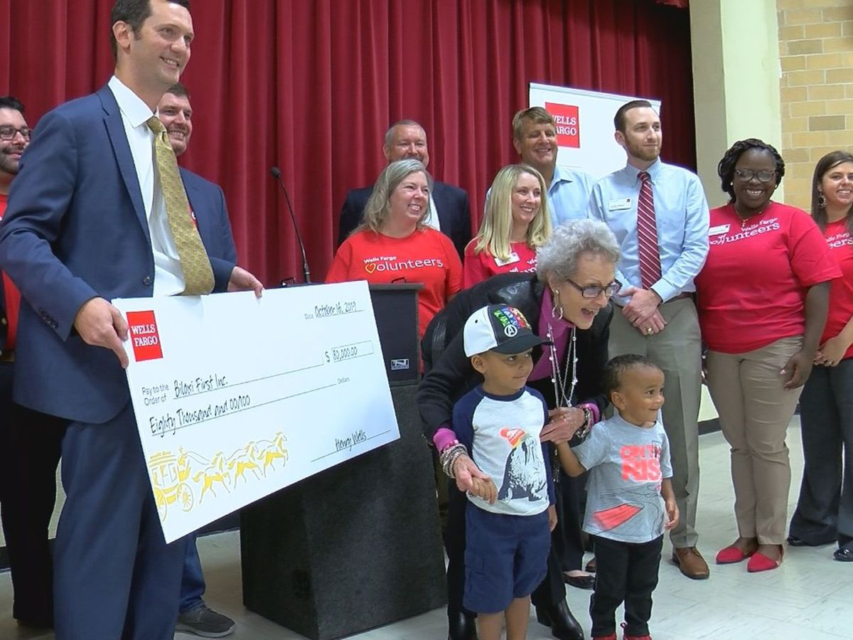 Excel by 5 receives large Wells Fargo donation