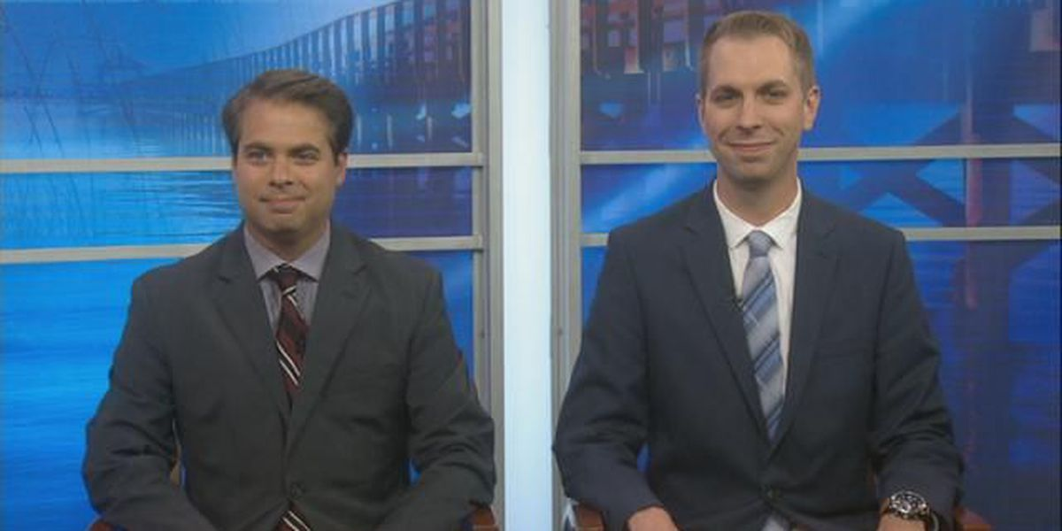 WLOX- News This Week Patrick Clay and Hugh Keeton