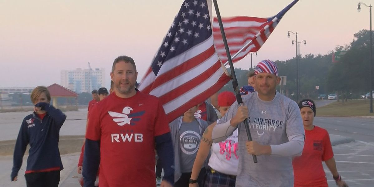 Flag traveling across America makes stop in MS