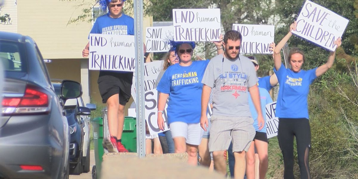 Rise up Rally raises awareness on the evils of human trafficking