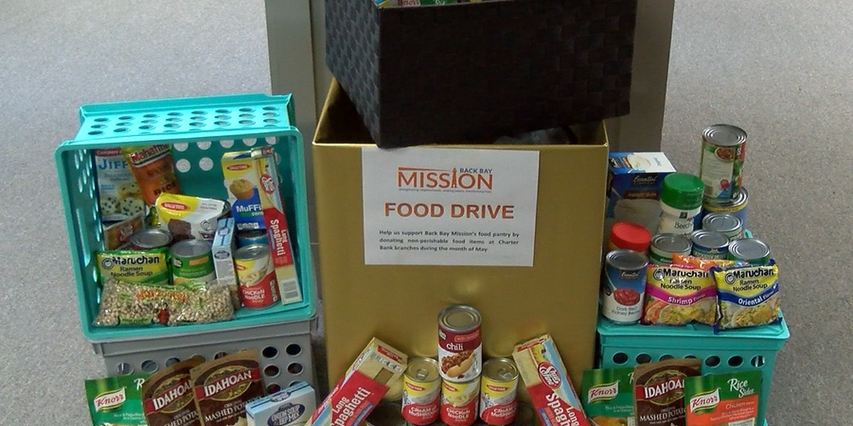Back Bay Mission food pantry looks to local businesses for support
