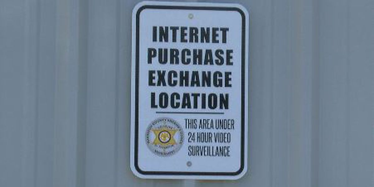 Internet Purchase Exchange Zones pop-up in Harrison County