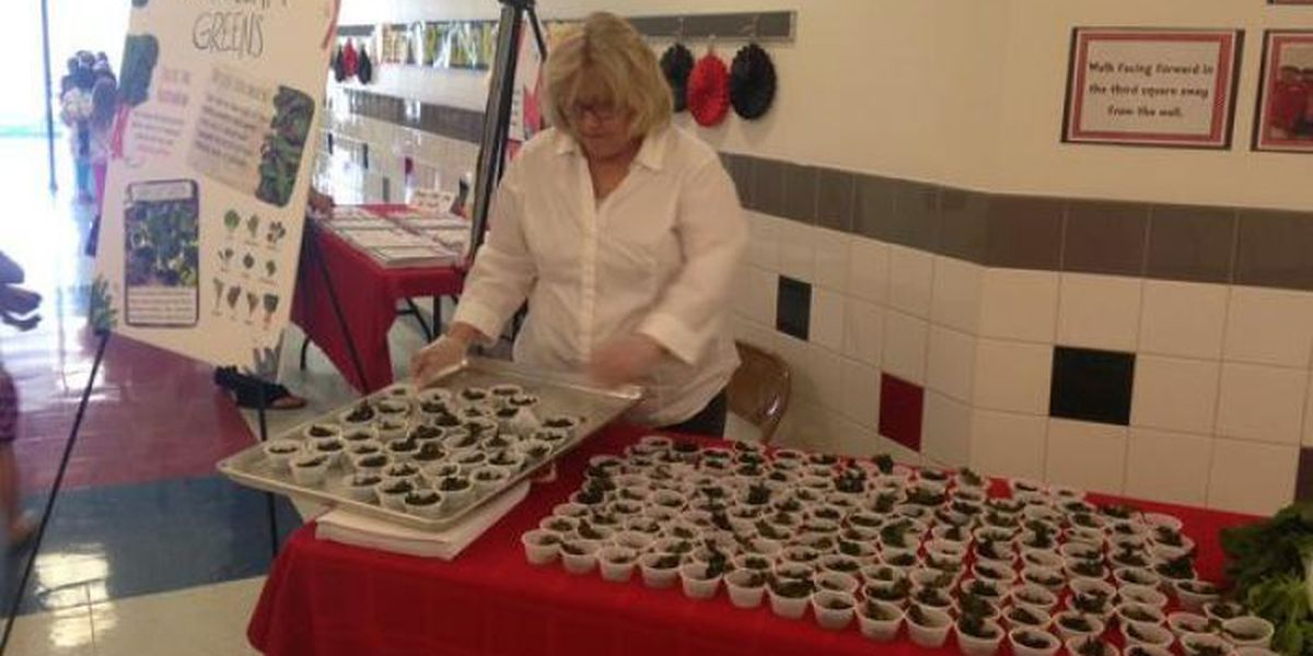 North Bay Elementary celebrates National School Lunch Week with kale