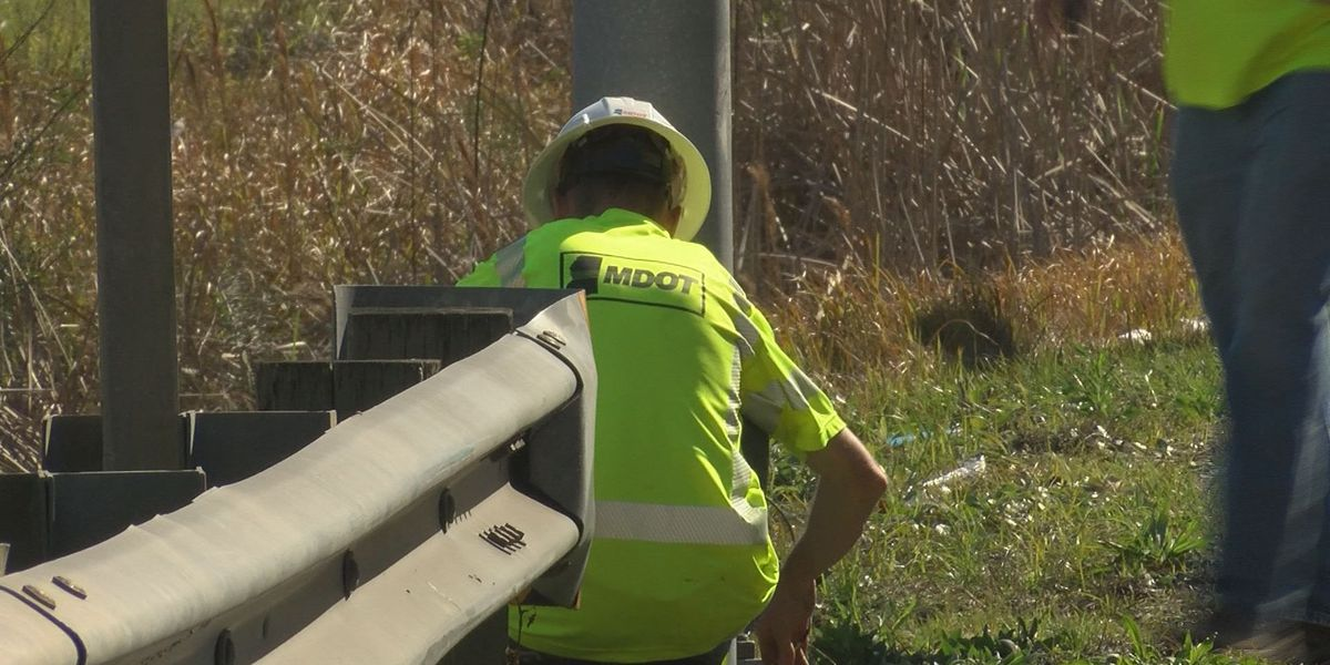 Poorly lit stretch of Highway 49 undergoes routine maintenance