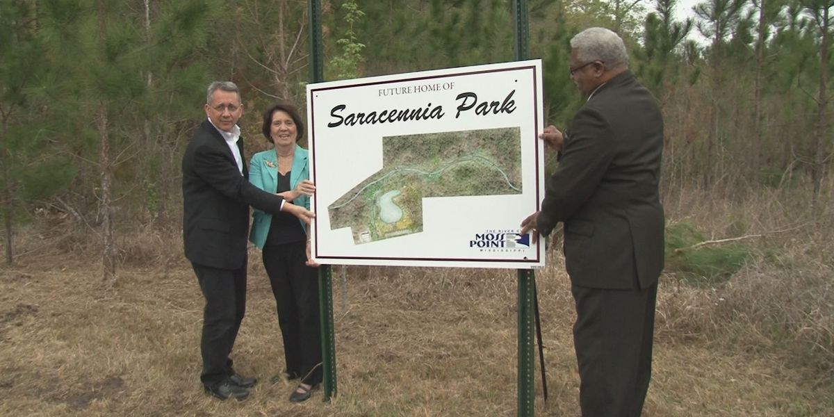 Moss Point developing two new nature parks