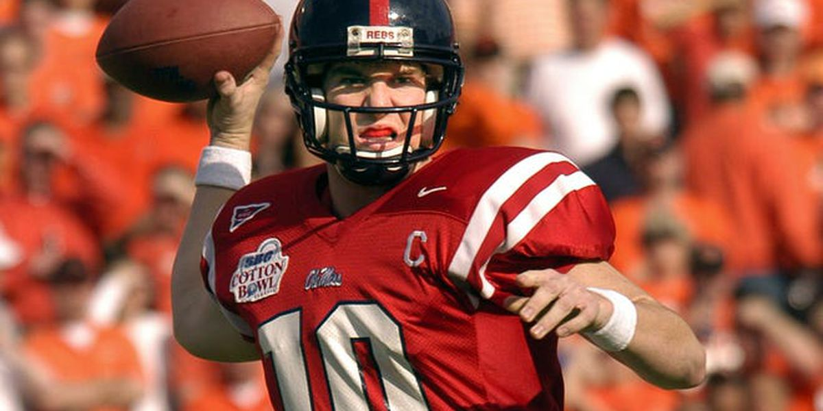Ole Miss to retire Eli Manning's No. 10 jersey