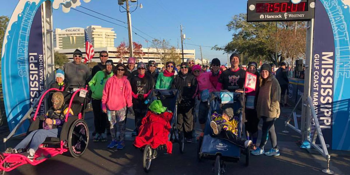"Gulf Coast Marathon participants ""Soak up the Run"""