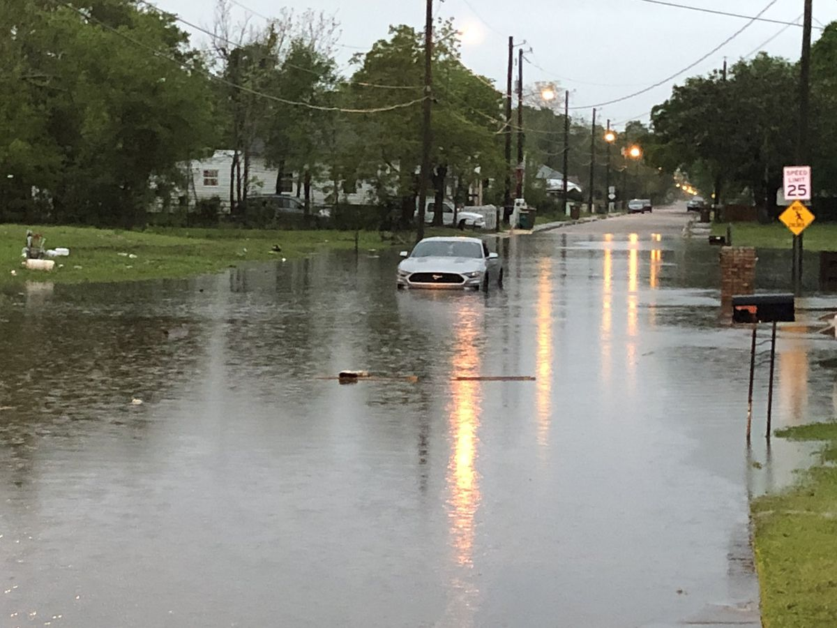 LIST: Road closures due to flooding impacting South Mississippi