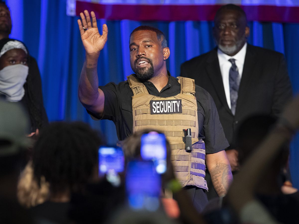Republicans push Kanye 2020. But will it really hurt Biden?