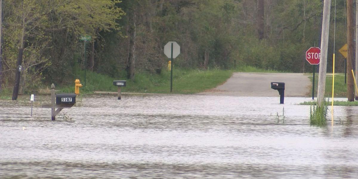 Pearlington residents still on edge despite water receding