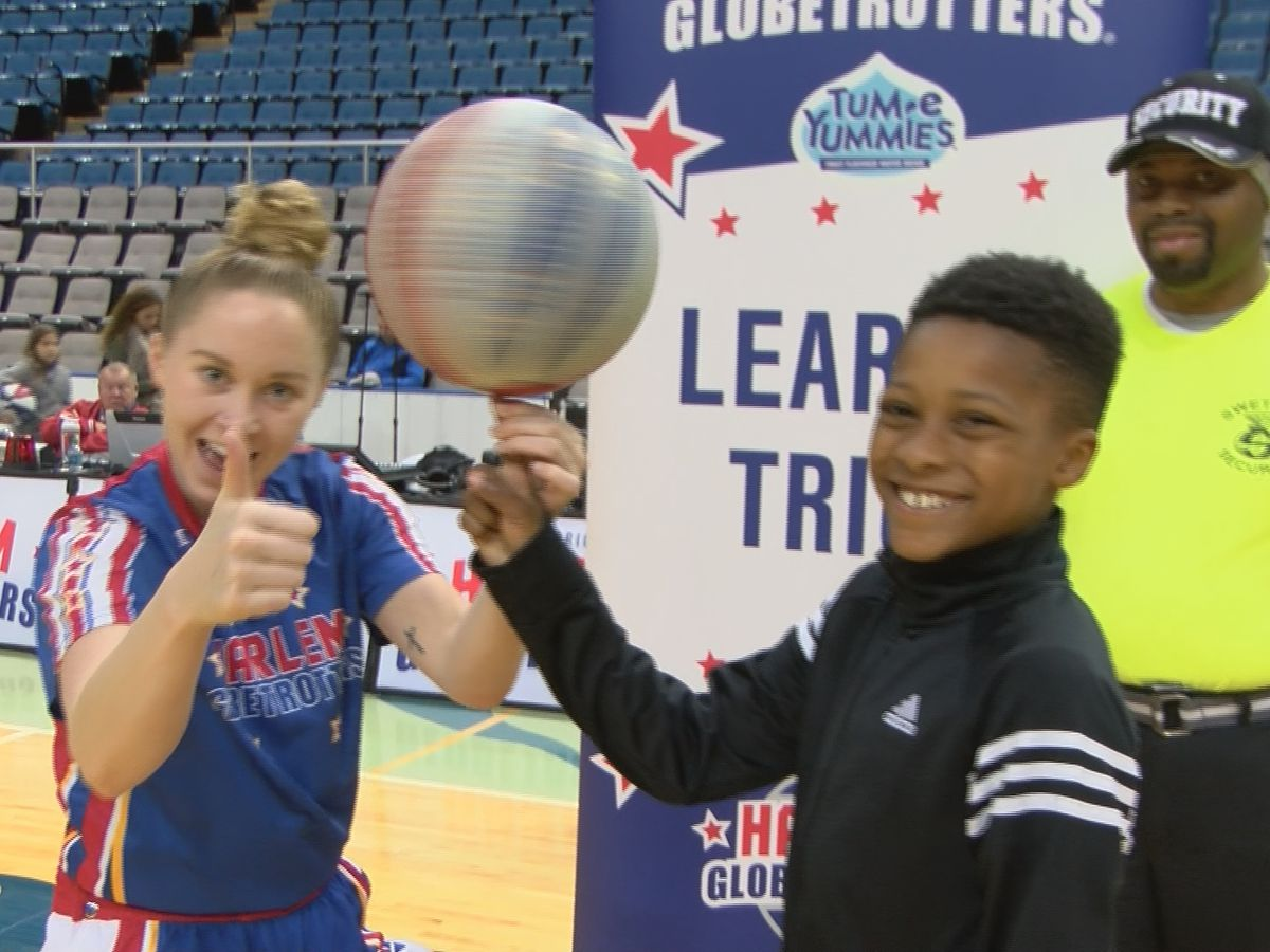 Harlem Globetrotters take their talents to the Coast